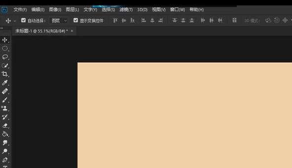 ps新建图形文件工具在哪设置第1步