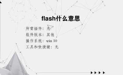 flash什么意思