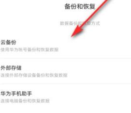 华为备忘录内容删除的如何恢复第3步