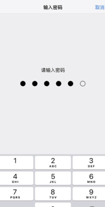 苹果12面部识别怎么设置第2步