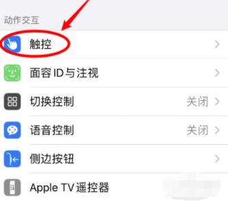 苹果12截图怎么设置第2步