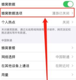 iphone 12怎么关闭5g网络第3步