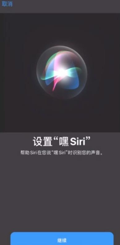 苹果siri怎么设置主人的声音第3步