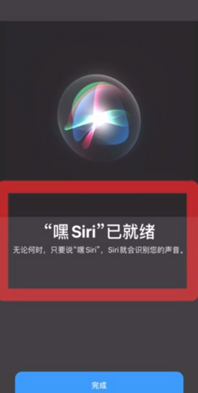 苹果siri怎么设置主人的声音第5步
