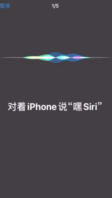 苹果siri怎么设置主人的声音第4步